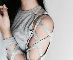 design, girl, and shirt image