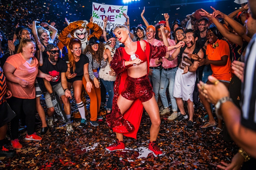 katy perry, music, and witness image