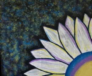 aesthetic, flower, and painting image