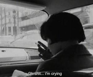 bad, crying, and me image