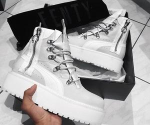 fentyxpuma, puma aesthetic, and shoe aesthetics image