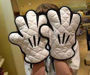 mickey mouse and gloves image