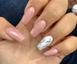 beauty, nails, and marble image