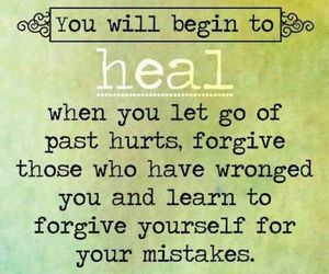 forgive, heal, and let go image