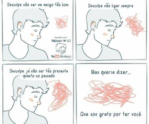 frases, distancia, and desenho image