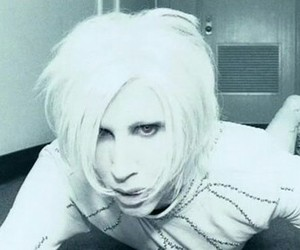Marilyn Manson and i dont like the drugs image