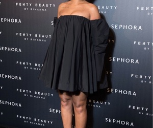 rihanna, black, and sephora image