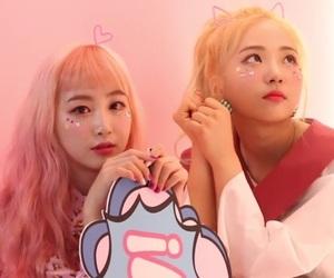 hyeseong, yukyung, and elris image