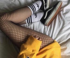 yellow, vans, and adidas image
