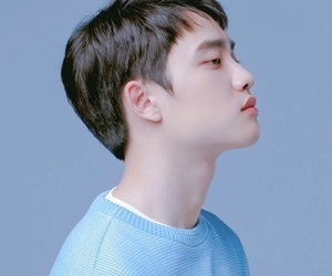 asia, blue, and kyungsoo image