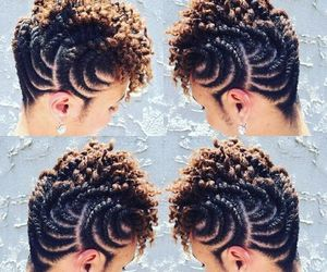 fashion, humanhair, and curly image