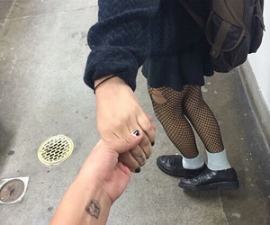 grunge, couple, and tumblr image