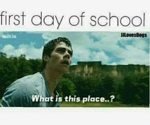 days, heal, and school image
