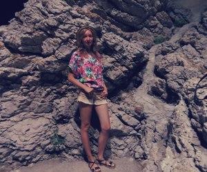girl, sun, and Montenegro image