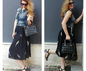 dior, terranova, and jeans image