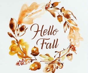 autumn, wordart, and colour image
