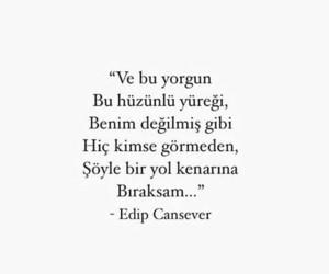 türkçe sözler and edip cansever image