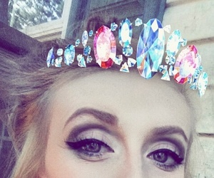 makeup, selfie queen, and princess image