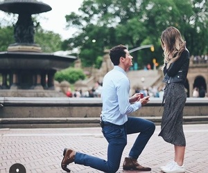 love, proposal, and Relationship image