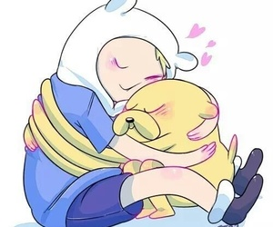 JAKe, finn, and adventure time image