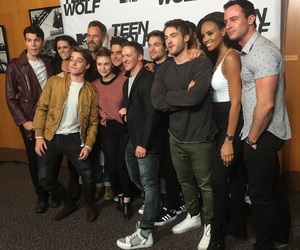 andrew, holland, and teen wolf image