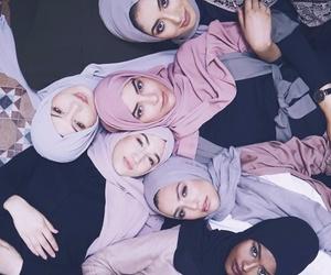 fashion, girl, and muslim image