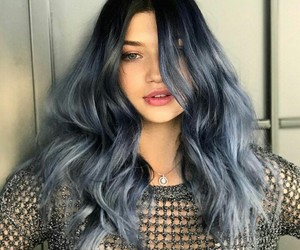 blue, color, and fashion image