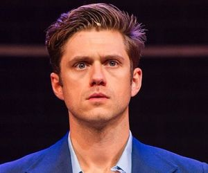 bobby, company, and aaron tveit image