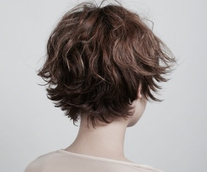 hair, pretty, and short image