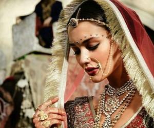 bollywood, bride, and fashion image