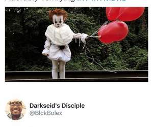 clown, not funny, and funny image