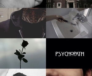 aesthetic, black rose, and tumblr image