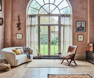 autumn, house, and living room image