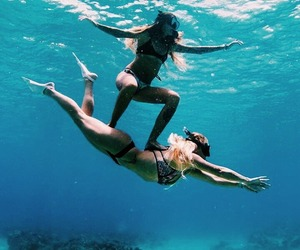 friends, summer, and sea image