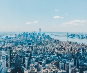 city, new, and new york image
