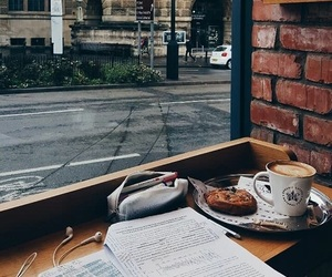 study, coffee, and cafe image