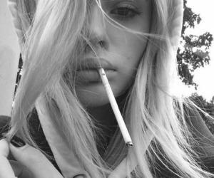smoke, tumblr, and black and white image