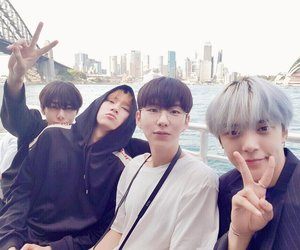 minhyuk, monsta x, and kihyun image