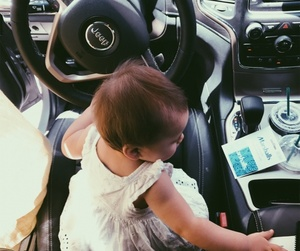 artsy, jeep, and baby image