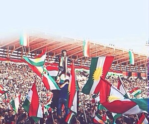 flag, yes, and kurd image