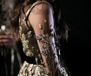 dress, elie saab, and embroidery image