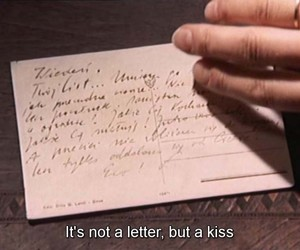 Letter and love image