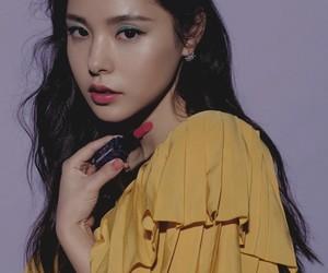 beauty, korean, and hyorin image