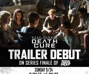 teen wolf, mtv, and the maze runner image