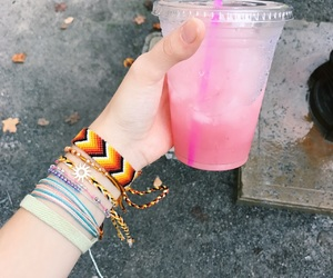bracelet, colorful, and fall image