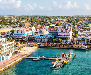 boats, oranjestad, and cute image