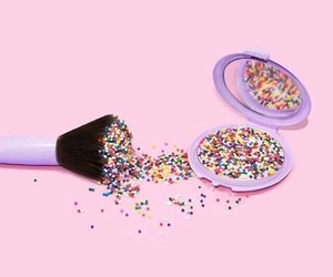 colorful, cosmetic, and pink image
