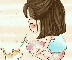 cute, cartoon, and kawaii image