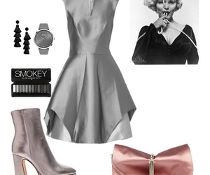 dress, fashion, and monro image