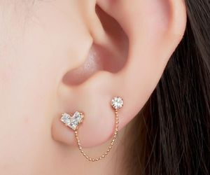 cute, accessories, and piercing image